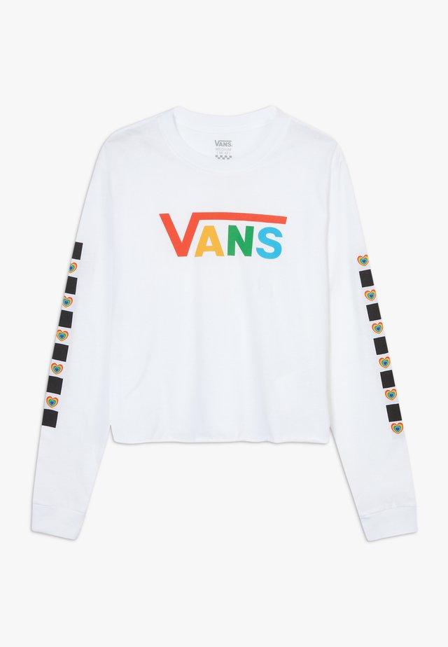 SCOTCH HOP - Långärmad tröja - white