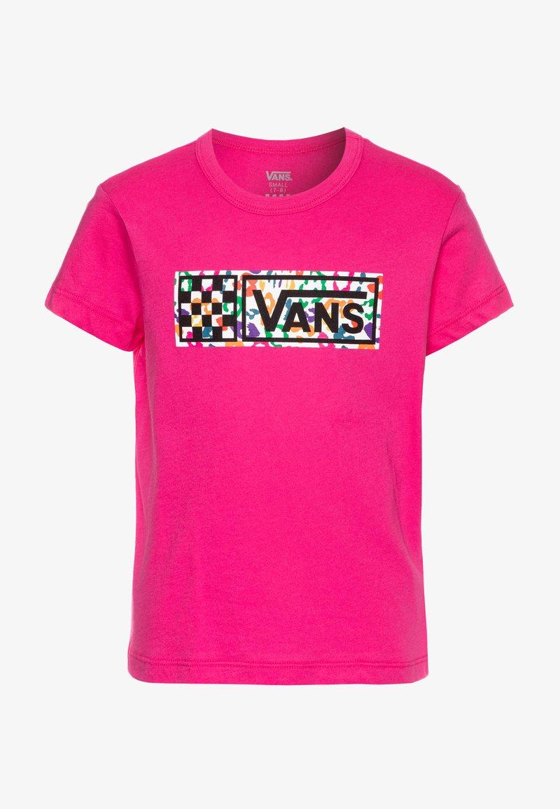 Vans - RAINBOW LEOPARD - Camiseta estampada - fuchsia purple