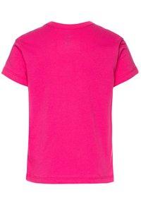 Vans - RAINBOW LEOPARD - T-shirt con stampa - fuchsia purple - 1