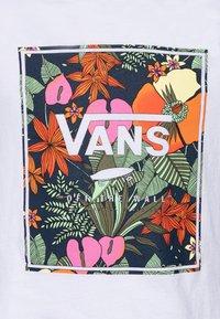 Vans - TROPIC - T-shirt print - white - 2