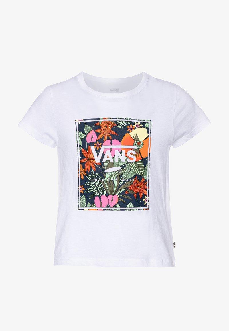 Vans - TROPIC - T-shirt print - white