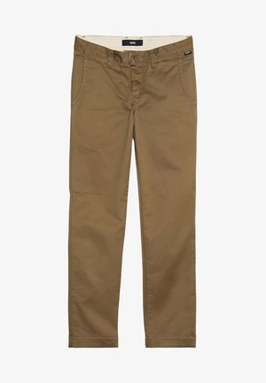 AUTHENTIC STRETCH BOYS - Chino kalhoty - dirt