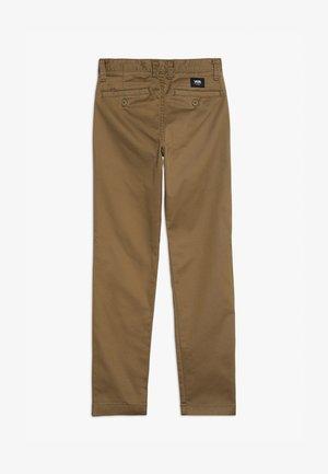 Pantalones chinos - dirt