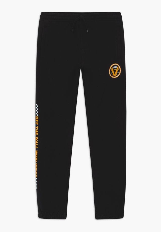 OLD SKOOL BOYS - Pantalones deportivos - black