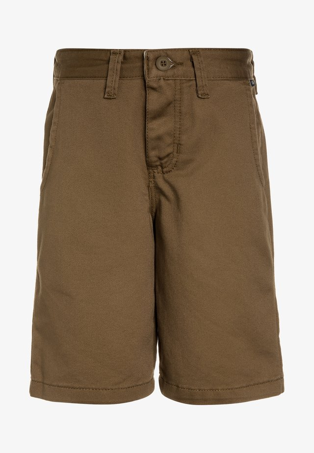 AUTHENTIC STRETCH BOYS - Shorts - dirt