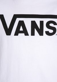 Vans - CLASSIC BOYS - Print T-shirt - white/black - 2