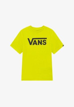 CLASSIC BOYS - Print T-shirt - sulphur spring/black