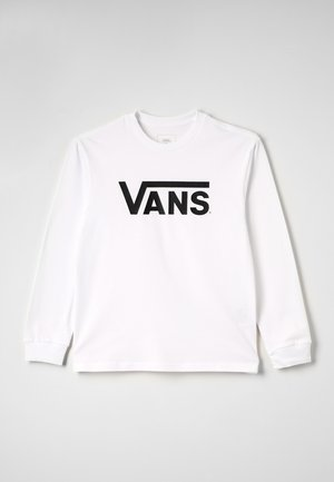 CLASSIC  - Long sleeved top - white/black