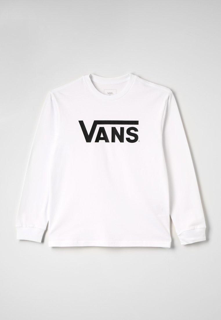 Vans - CLASSIC BOYS - Long sleeved top - white/black