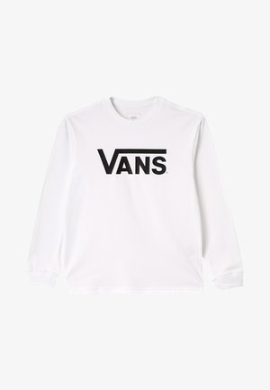 CLASSIC BOYS - Long sleeved top - white/black