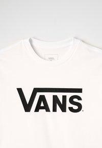 Vans - CLASSIC  - T-shirt à manches longues - white/black - 2