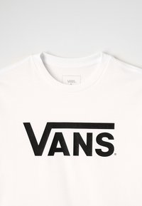 Vans - CLASSIC BOYS - Bluzka z długim rękawem - white/black - 2