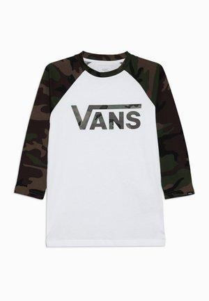 CLASSIC RAGLAN BOYS - T-shirt à manches longues - white