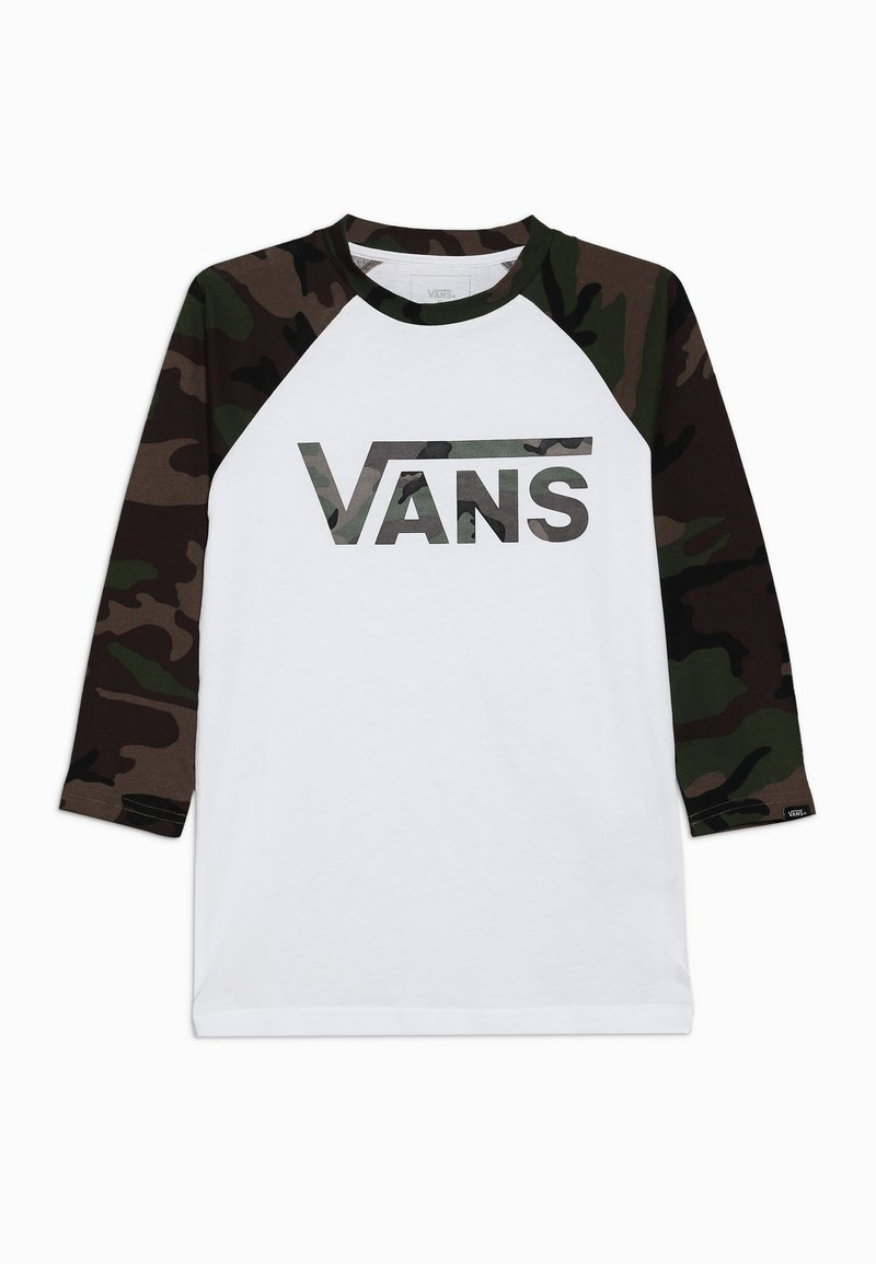 Vans - CLASSIC RAGLAN BOYS - Camiseta de manga larga - white