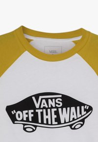 Vans - RAGLAN BOYS - Long sleeved top - white/sulphur - 4