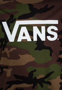 Vans - CLASSIC BOYS - T-shirt med print - brown - 2