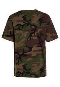 Vans - CLASSIC BOYS - T-shirt print - brown - 1