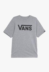 Vans - CLASSIC BOYS - T-shirts med print - athletic heather/black - 0