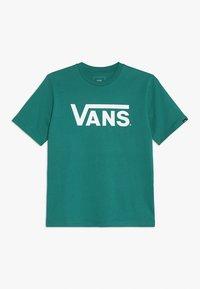 Vans - CLASSIC BOYS - T-shirt con stampa - quetzal/white - 0