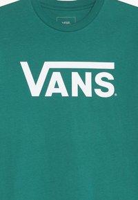 Vans - CLASSIC BOYS - T-shirt con stampa - quetzal/white - 4
