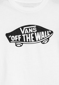 Vans - BOYS - T-shirt con stampa - white/black