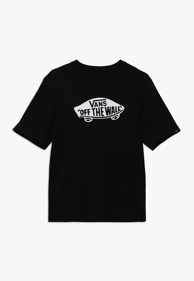BOYS - T-Shirt print - black/white