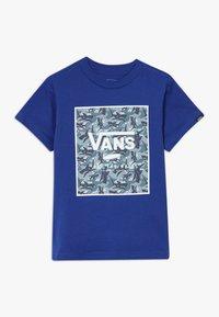 Vans - PRINT BOX KIDS - Print T-shirt - sodalite blue - 0