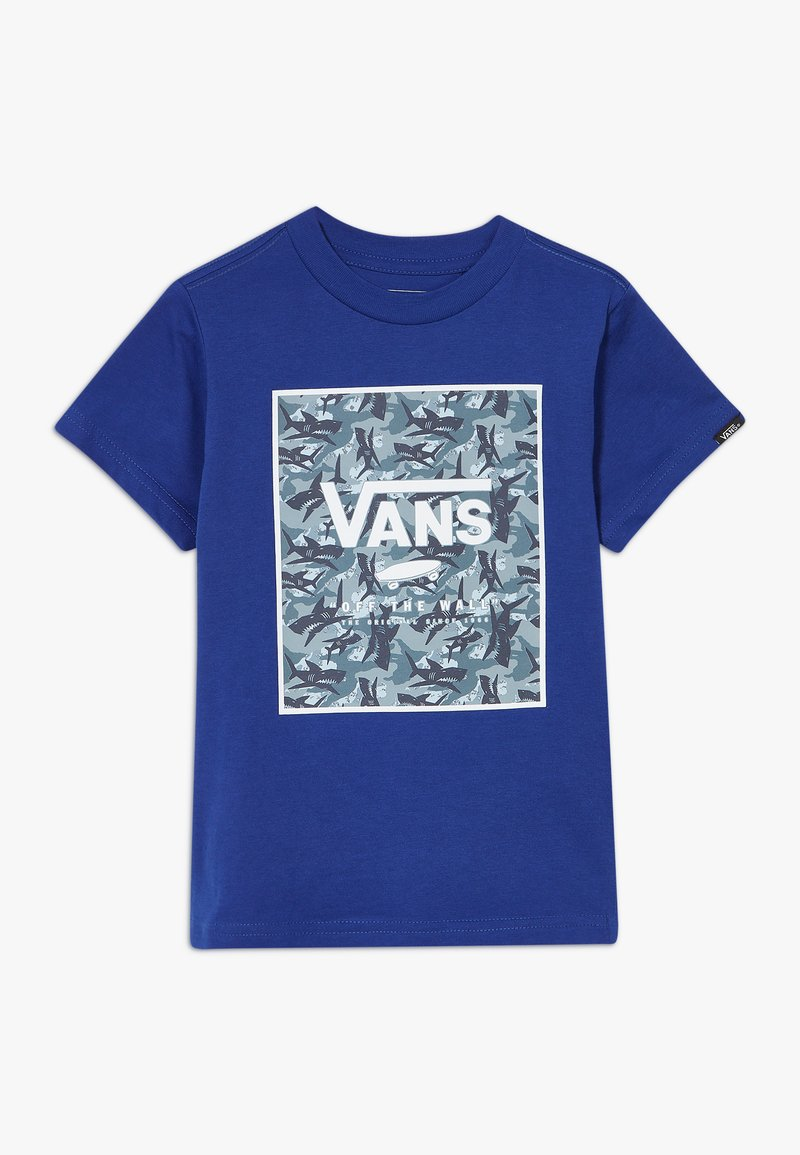 Vans - PRINT BOX KIDS - Print T-shirt - sodalite blue