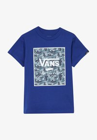 Vans - PRINT BOX KIDS - Print T-shirt - sodalite blue - 2