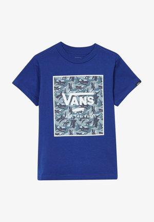 PRINT BOX KIDS - T-shirt con stampa - sodalite blue