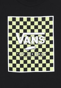 Vans - PRINT BOX KIDS - Print T-shirt - black - 3
