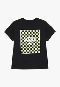 Vans - PRINT BOX KIDS - Print T-shirt - black - 0