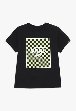 PRINT BOX KIDS - T-shirt med print - black