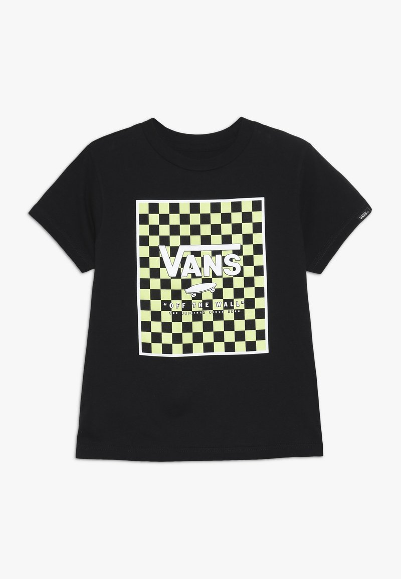 Vans - PRINT BOX KIDS - Print T-shirt - black