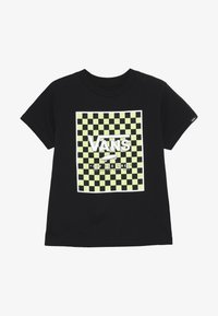 Vans - PRINT BOX KIDS - Print T-shirt - black - 2
