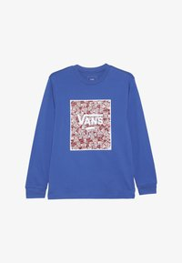 Vans - PRINT BOX BOYS - Longsleeve - royal blue/racing red - 3