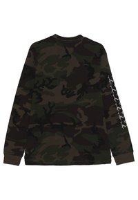Vans - SKELISKATE BOYS - Long sleeved top - dark green - 1