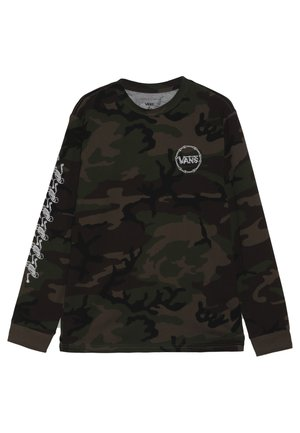 SKELISKATE BOYS - Longsleeve - dark green