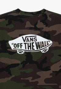 Vans - CLASSIC BOYS - Print T-shirt - dark green - 3