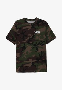 Vans - CLASSIC BOYS - T-shirt med print - dark green - 2
