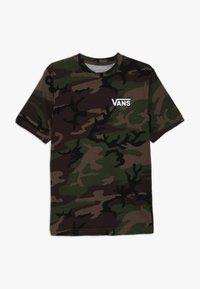 Vans - CLASSIC BOYS - T-shirt med print - dark green - 0