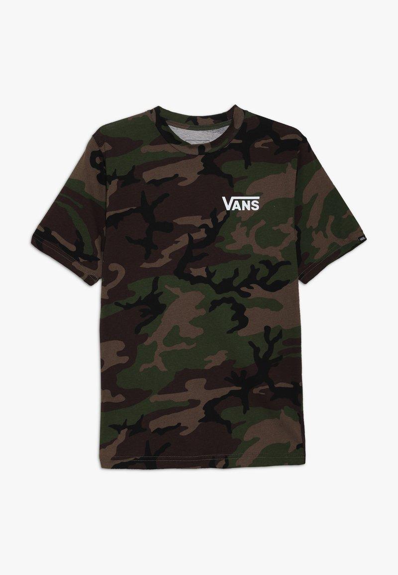 Vans - CLASSIC BOYS - Print T-shirt - dark green