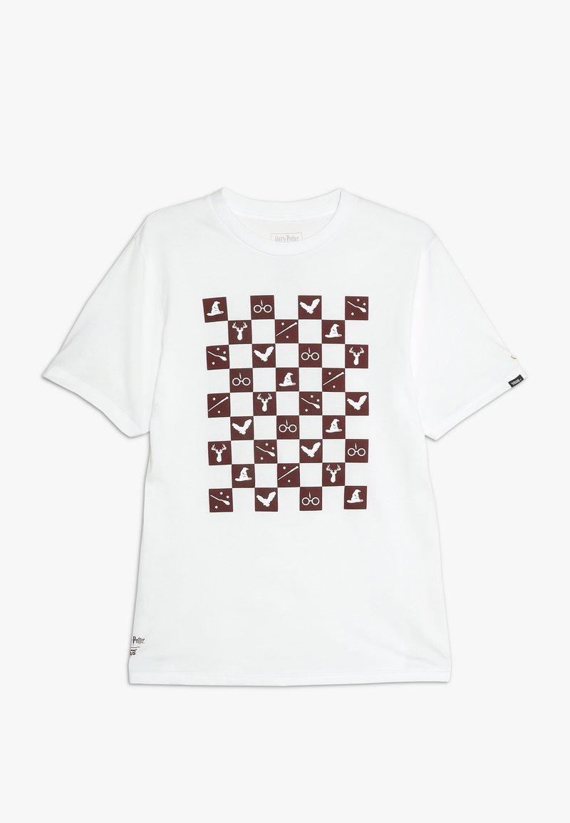Vans - HARRY POTTER ICONS BOYS - T-shirt imprimé - white