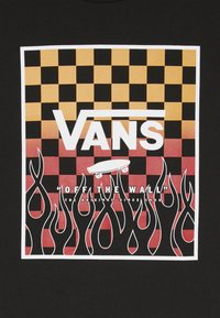 Vans - PRINT BOX BOYS - Triko spotiskem - black - 3