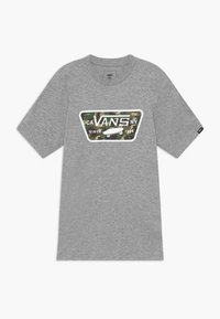 Vans - FULL PATCH FILL BOYS - Print T-shirt - athletic heather - 0