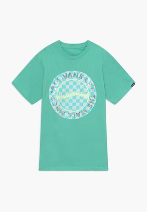 AUTISM AWARENESS BOYS - Print T-shirt - dusty jade green