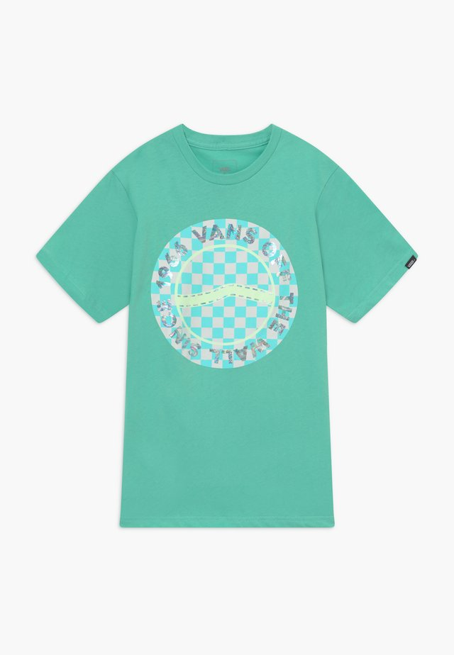 AUTISM AWARENESS BOYS - T-shirt med print - dusty jade green