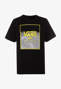 Vans - PRINT BOX BOYS - Print T-shirt - black - 0