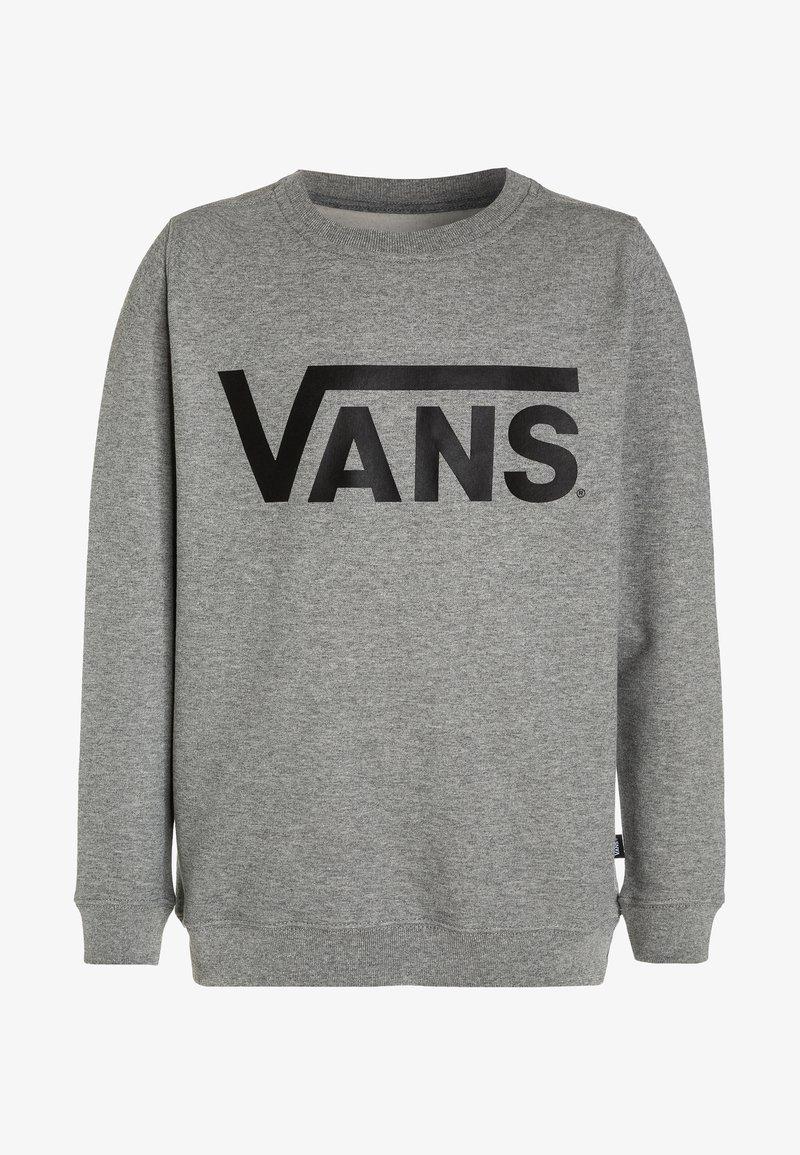 Vans - CLASSIC CREW BOYS - Sweater - concrete heather/black