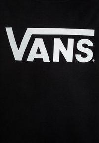 Vans - CLASSIC CREW BOYS - Sweater - black/white - 2